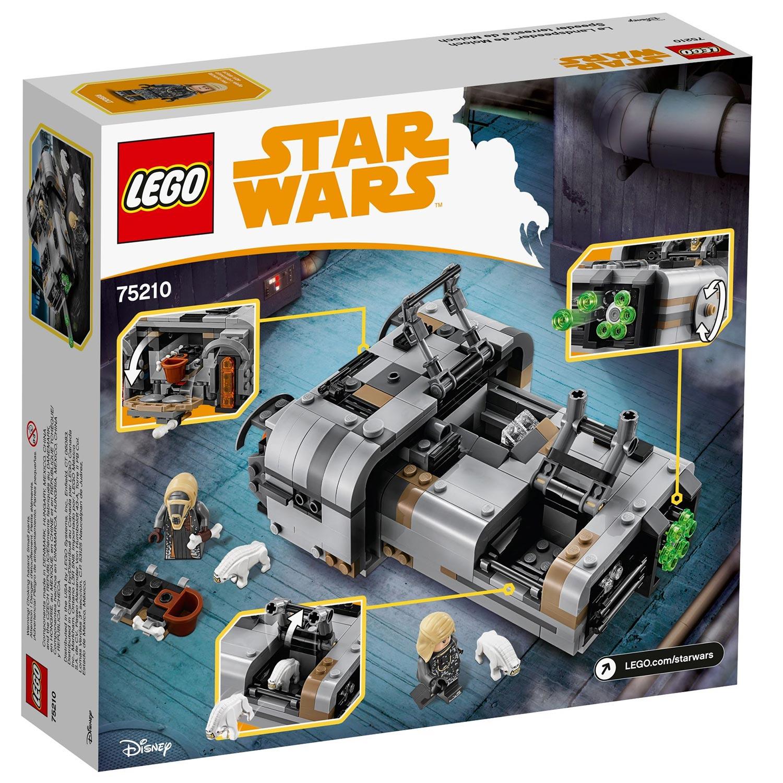 Lego star wars moloch 39 s landspeeder 75210 - Lego star warse ...