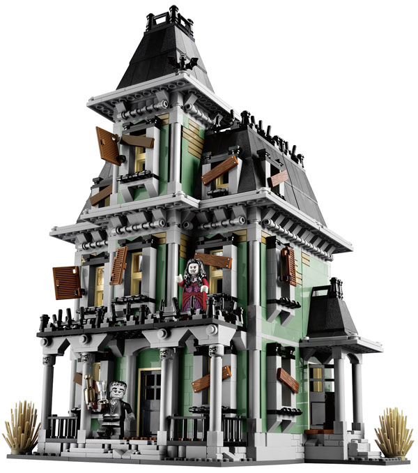 LEGO Monster house and minifigures
