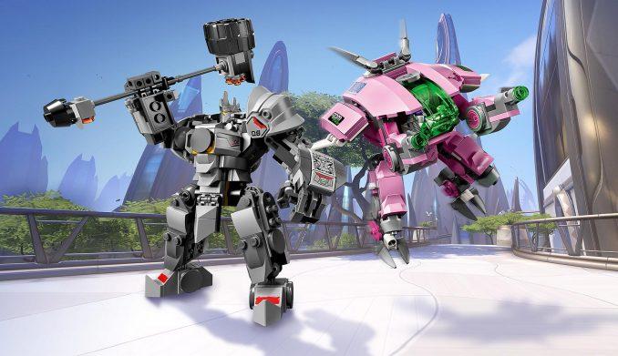 LEGO Overwatch D.Va & Reinhardt