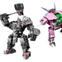 LEGO Overwatch D.Va & Reinhardt #75973