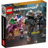 LEGO Overwatch D.Va & Reinhardt Box Back
