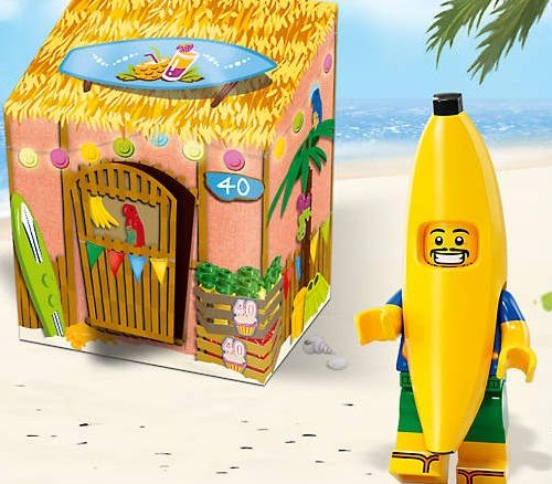 LEGO Party Banana Minifigure
