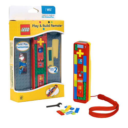 LEGO Play and Build Remote for Nintendo Wii