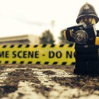 LEGO Police Crime Scene