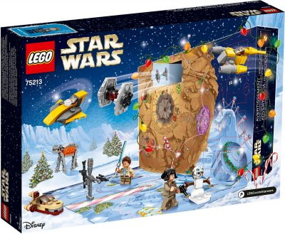 LEGO Star Wars Advent Calendar 2018 Box Back
