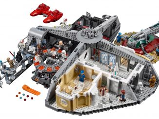 LEGO Star Wars Betrayal at Cloud City #75222