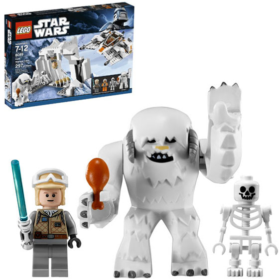 LEGO Star Wars Empire Strikes Back Hoth Wampa Figures