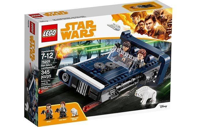 LEGO Star Wars Han Solo's Landspeeder #75209