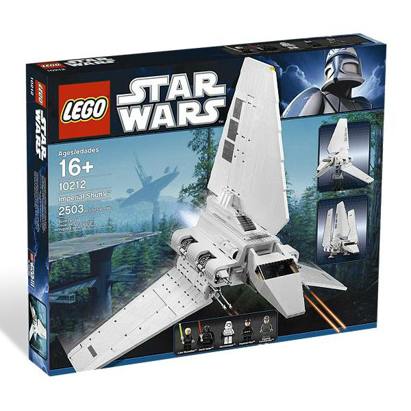 lego star wars imperial shuttle. Black Bedroom Furniture Sets. Home Design Ideas