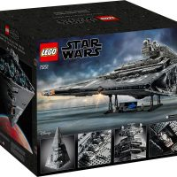 LEGO Star Wars Imperial Star Destroyer Box Back