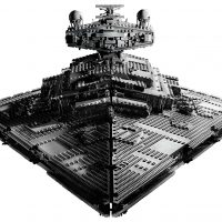 LEGO Star Wars Imperial Star Destroyer Front