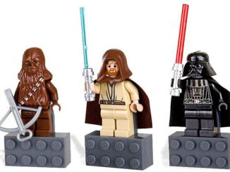 LEGO Star Wars Magnet Set: Chewbacca, Vader and Obi-Wan