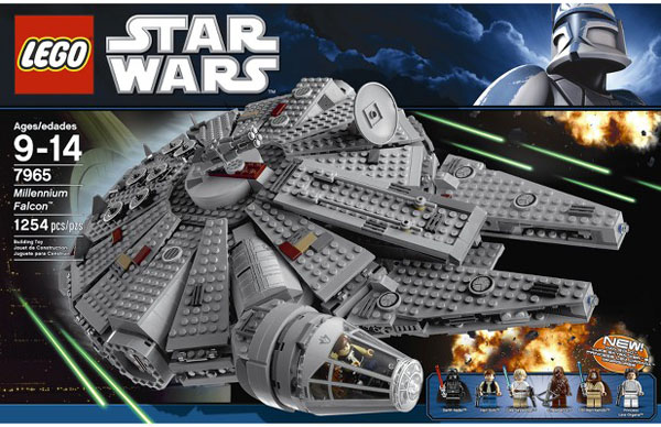 LEGO Star Wars Millennium Falcon 7965 Set