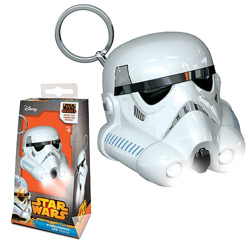 LEGO Star Wars Rebels Stormtrooper Key Chain Flashlight