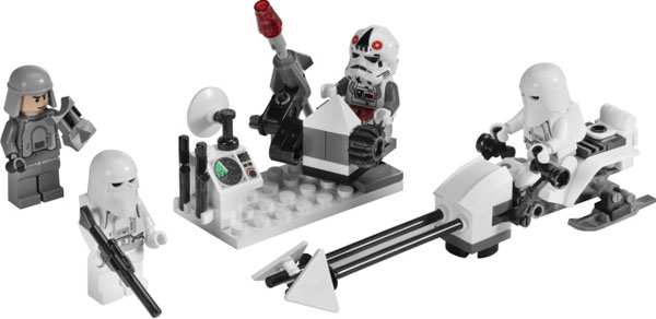 LEGO Star Wars Snowtrooper Battle Pack