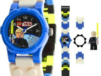 LEGO Star Wars Watch with Mini Figure Luke Skywalker
