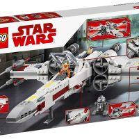 LEGO Star Wars X Wing Starfighter 75218 Box Back
