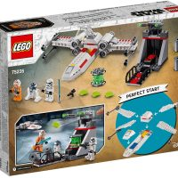 LEGO Star Wars X-Wing Starfighter Trench Run Box Back
