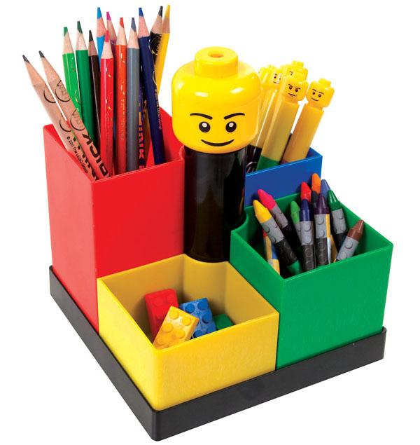 Lego Stationery Desk Carousel