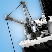 LEGO Steamboat Willie Crane