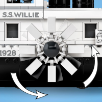 LEGO Steamboat Willie Paddle Wheel