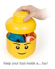 LEGO Storage Stackable Heads