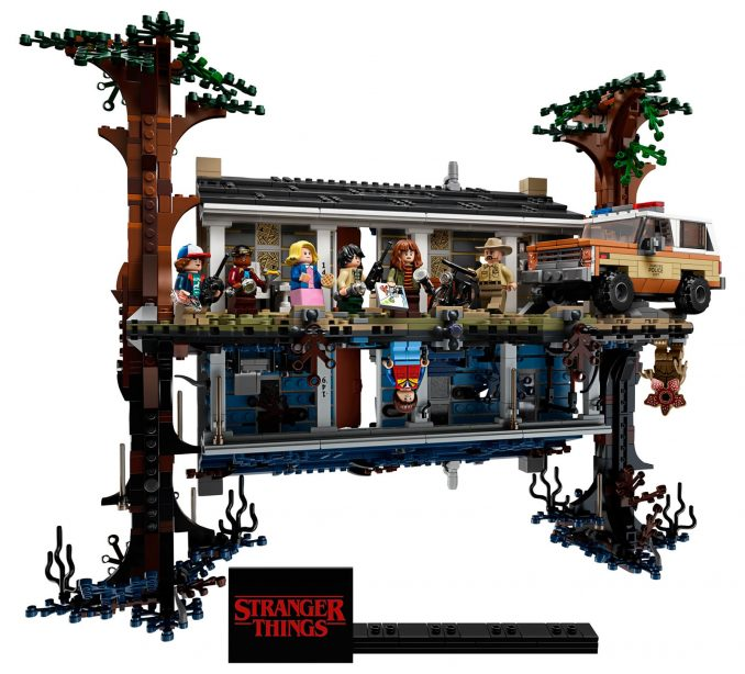 LEGO Stranger Things The Upside Down #75810