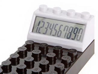 LEGO Styled Brick Calculator