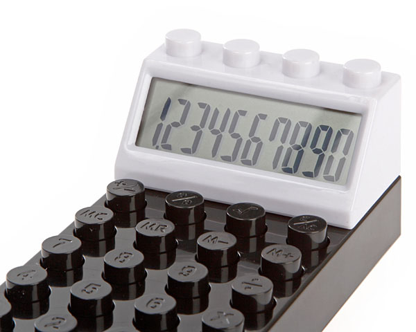 LEGO Styled Brick Calculator