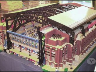 LEGO Super Bowl Lucas Oil Stadium