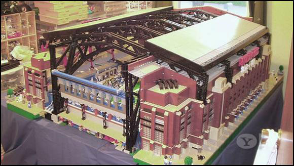 LEGO Super Bowl Lucas Oil Stadium