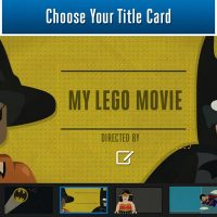LEGO Super Hero Movie Maker App