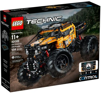 LEGO Technic 4X4 X treme Off Roader Box