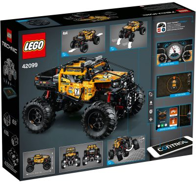 LEGO Technic 4X4 X-treme Off-Roader Box Back