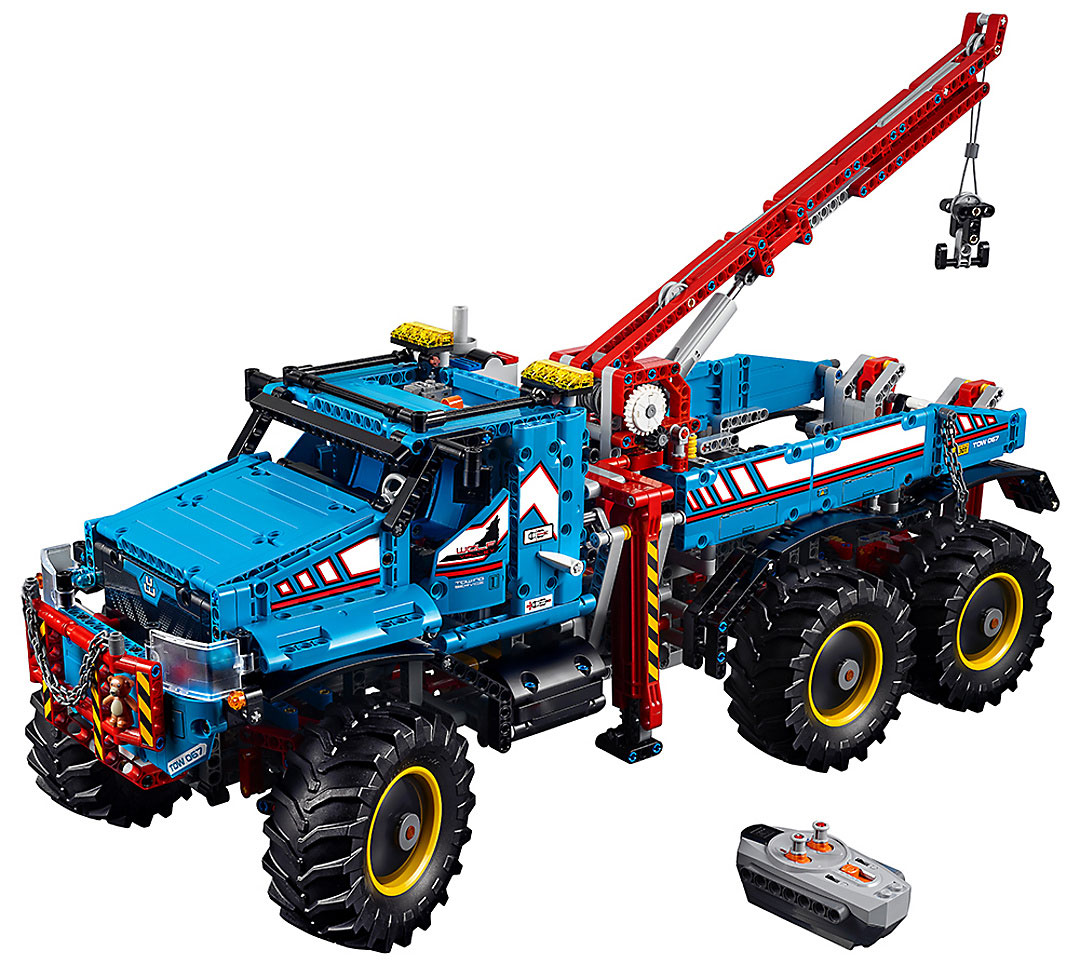 lego technic 6 6 all terrain tow truck 42070. Black Bedroom Furniture Sets. Home Design Ideas