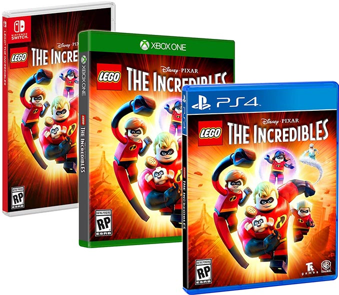 LEGO The Incredibles Game PS4 Xbox One Nintendo Switch
