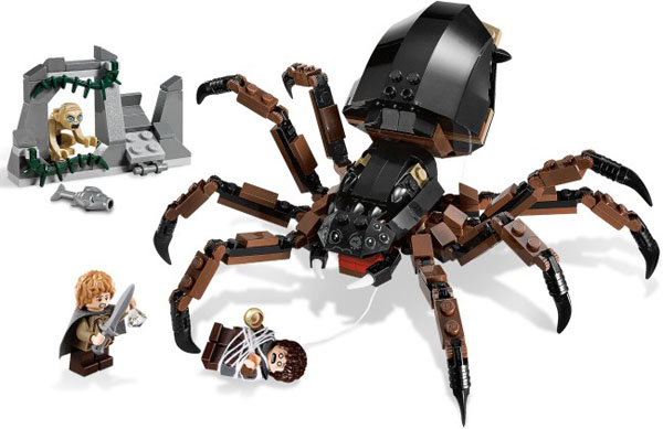 LEGO The Lord of the Rings Shelob Attacks 9740