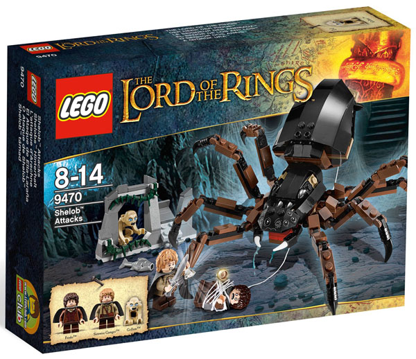 LEGO The Lord of the Rings Shelob Attacks