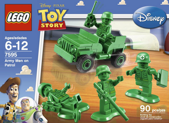 LEGO Toy Story Army Men on Patrol 7595
