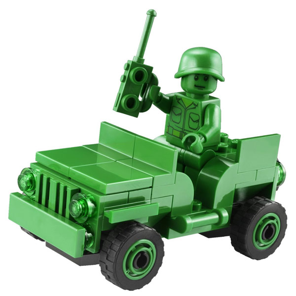 LEGO Toy Story Army Men on Patrol