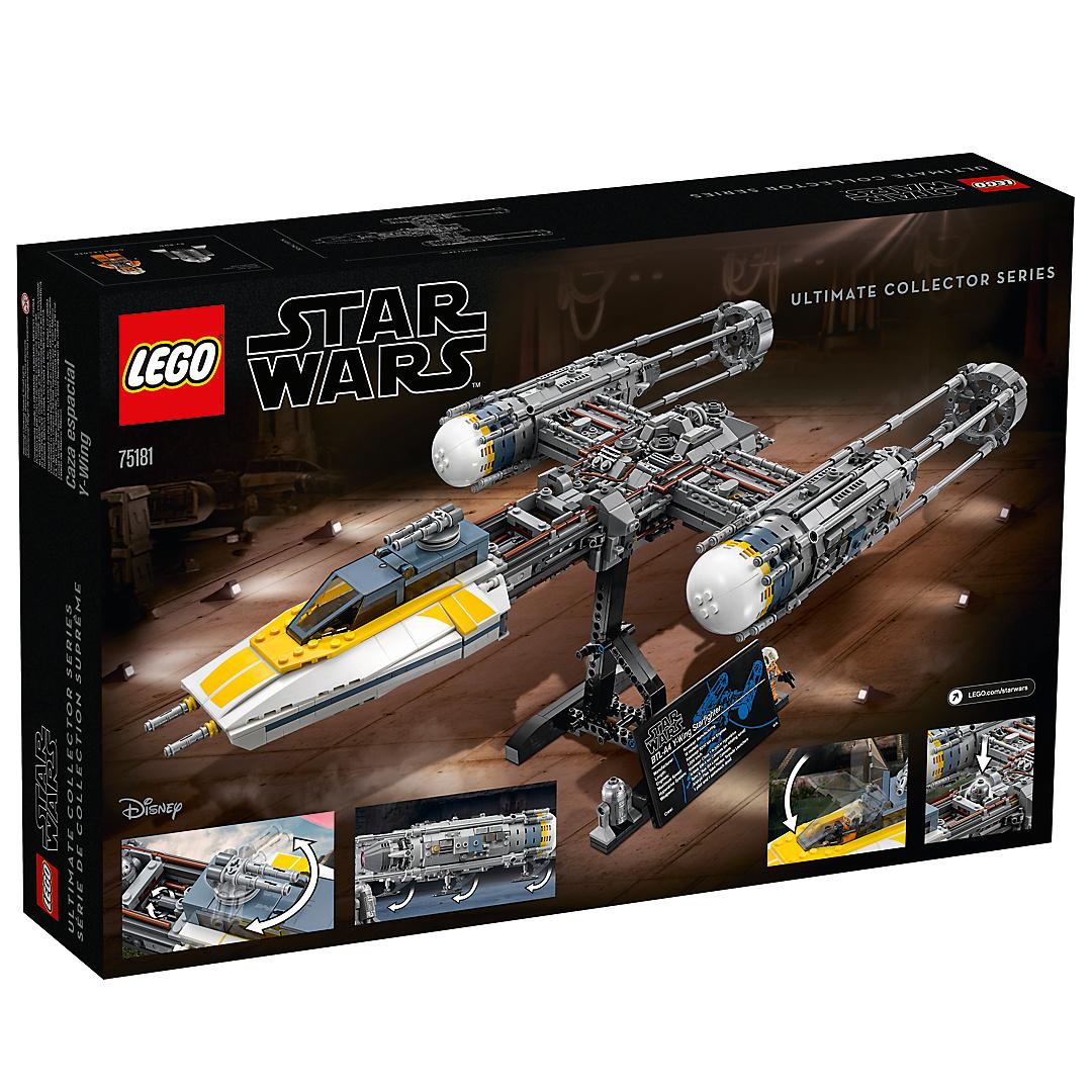 Lego star wars y wing starfighter 75181 - Bd lego star wars ...
