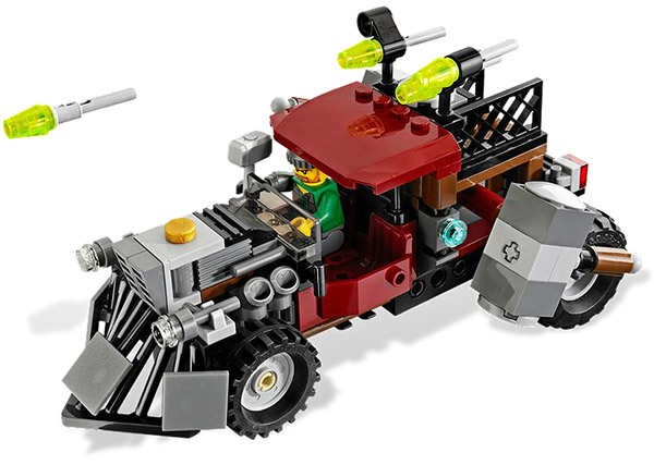 LEGO Zombie Attack Jack McHammer Car