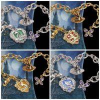 LUMOS Harry Potter Hogwarts Charm Bracelets
