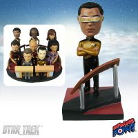 La Forge Build-a-Bridge Deluxe Bobble Head