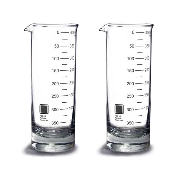 Laboratory Beaker Highball Glasses