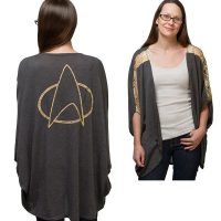 Ladies Star Trek Dolman Cardigan