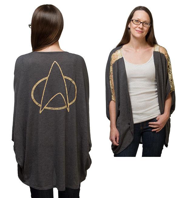 Ladies Star Trek Dolman Cardigan