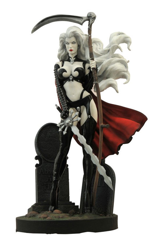 Lady Death III Statue