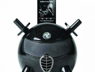 Lanchiya Ninja Black Speaker