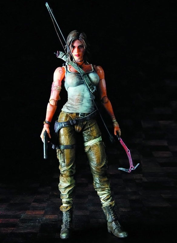 Lara Croft Play Arts Kai Action Figure